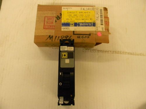 SQUARE D FAL14030 FAL 14030 CIRCUIT BREAKER 30AMP, US $9.99 – Picture 1