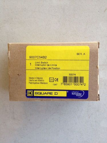 New square d 9007c54b2 turret head rotary limit switch nib