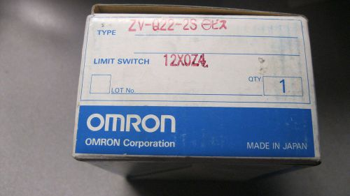 Omron zv-q22-2s flange mount roller plunger limit switch, bnib