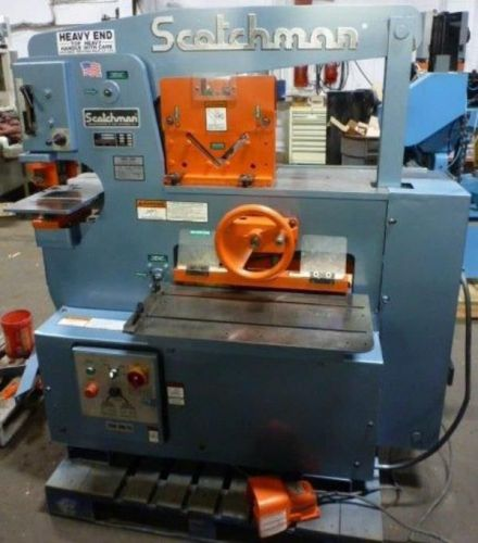 SCOTCHMAN HYDRAULIC IRONWORKER 65 Ton 6509 28793 US 1250000 Picture 1