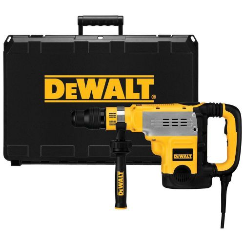 New dewalt d25723k 1-7/8 in.sds-max corded hammer drill /w 2-stg clutch/e-clutch