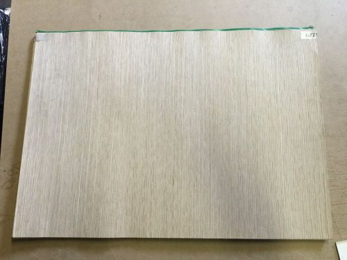 "Wood veneer recon white oak 25x18 1pcs total raw veneer  ""exotic"" rec 6-21-16"
