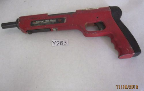 Ramset/red head 721 0.22 22 caliber powder actuated tool