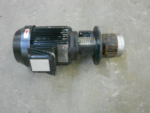 Ebara pump/toshiba motor form: fcklw21, type ik, (sold as is)