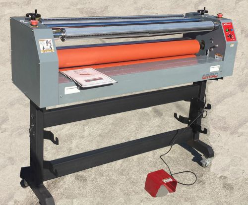 "Drytac jm44 cold laminator 44"" laminating machine"