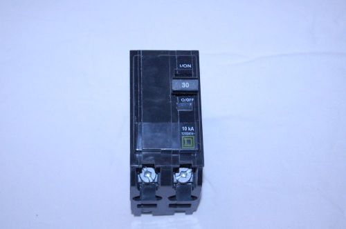 Square d 30 amp breaker double pole  120/240 v  part #qo230