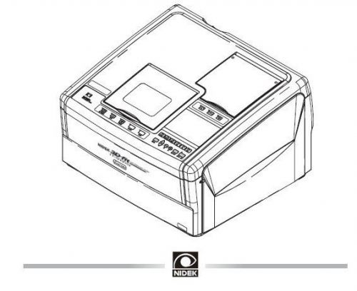 Nidek LE 9000 Technical Service Manual, Parts List + EXTRAS in  pdf