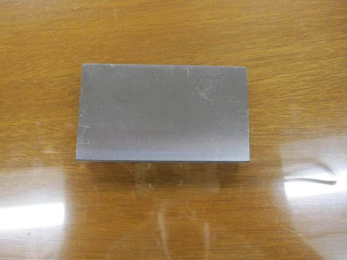 "Precision ground a2 tool steel ~ 3 1/2"" x 2"" x .39"""