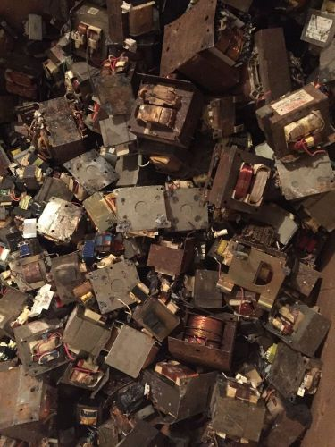 4,000 lbs pounds copper transformers scrap metal gaylord box clean