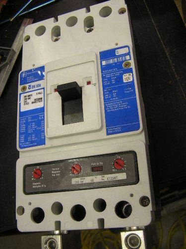 Circuit Breaker CUTLER HAMMER DK65K 300 A 240 v Cat. DK3300W Therm Mag Trip Unit, US $149.00 – Picture 1