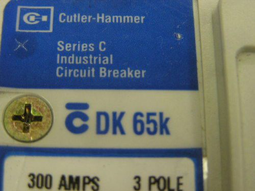 Circuit Breaker CUTLER HAMMER DK65K 300 A 240 v Cat. DK3300W Therm Mag Trip Unit, US $149.00 – Picture 12