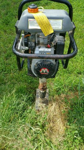 Multiquip mtr-40f walk behind jumping jack plate tamper gas