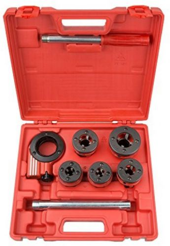 Tekton 7574 ratchet pipe threader kit, 9-piece