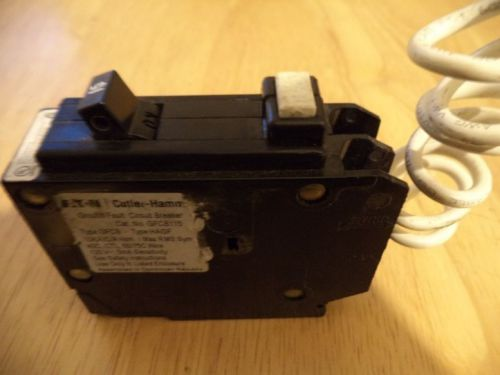 Eaton cutler hammer gfcb115 circuit breaker 1 pole 20 amp tested free shipping
