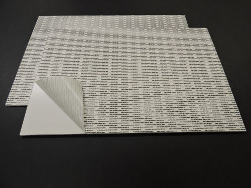 24x36 poster board white