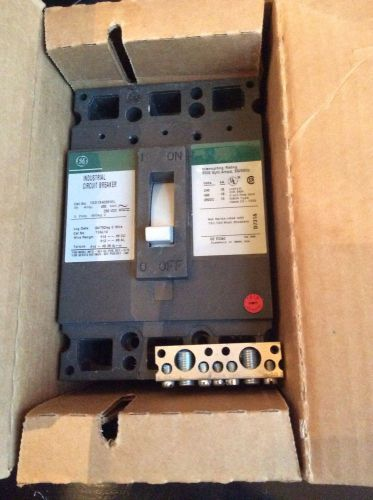 Ge molded case circuit breaker ted134030wl
