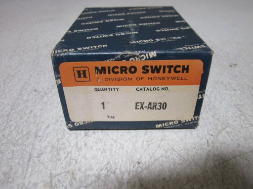MICRO SWITCH EX-AR30 EXPLOSION PROOF ROLLER SWITCH *NEW IN A BOX*, US $135.00 � Picture 1