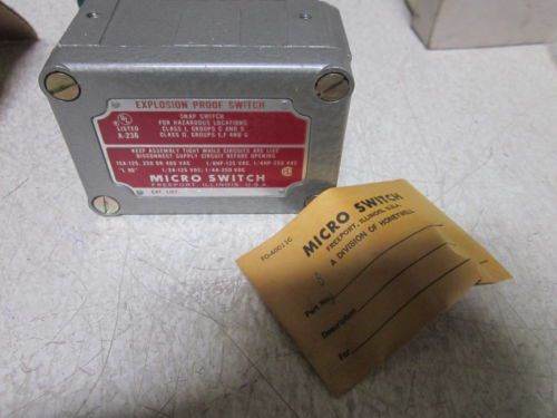 MICRO SWITCH EX-AR30 EXPLOSION PROOF ROLLER SWITCH *NEW IN A BOX*, US $135.00 � Picture 2