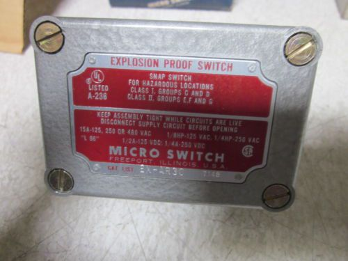 MICRO SWITCH EX-AR30 EXPLOSION PROOF ROLLER SWITCH *NEW IN A BOX*, US $135.00 � Picture 3