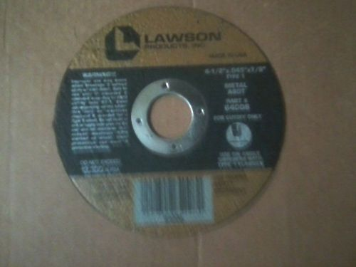 [50] lawson 4-1/2x.045x7/8 type  thin cutting disc -  new!!!