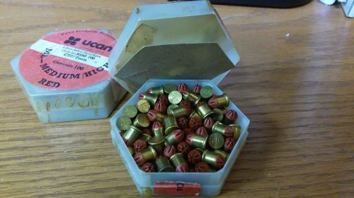 British made ucan safety cartridges 6.3 / 10 very strong .25 caliber short red