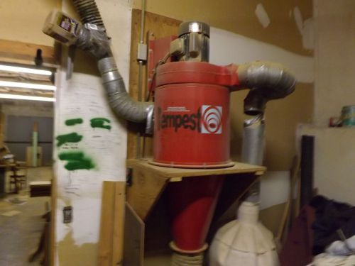Tempest cyclone dust collector psi wood working induction motor