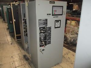 Asco automatic transfer switch w/bypass e962326097xc 260a 480y/277v 60hz used