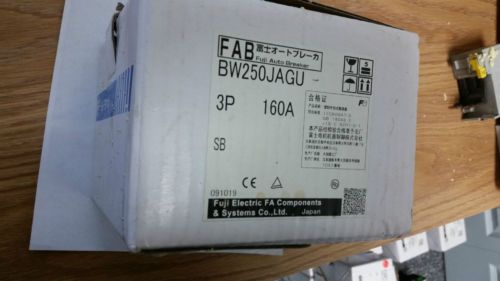 NEW Fuji Auto Breaker BW250JAGU-3P160SB  3 Pole 160 Amp 600 Volts Item #70, US $250.00 � Picture 2