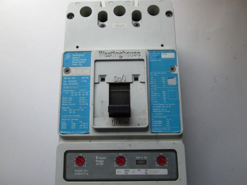 Westinghouse 400 AMP Circuit Breaker 600vac � Picture 1