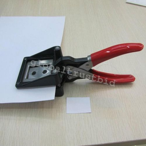 Nice handheld id card license photo picture punch cutter cutting tool 32x25mm
