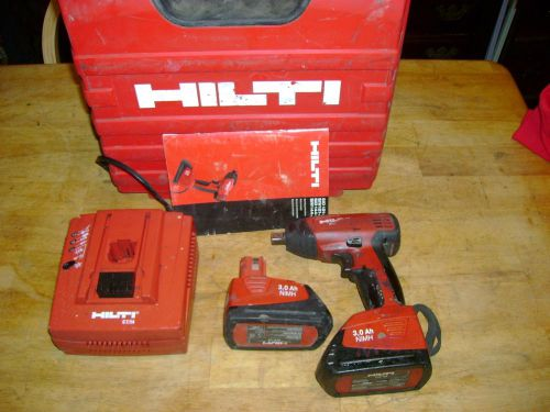 Hilti cordless impact wrenchsid121-a