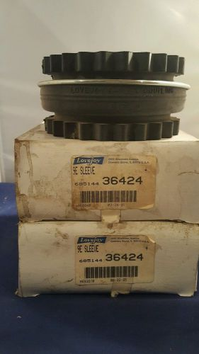 Lot of 2 lovejoy s-flex couplings 9e sleeve new in boxes