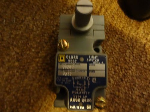 New square d c52b2 ser.a new!! class 9007 1n.o./1n.c. limit switch