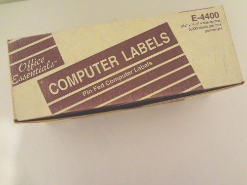 avery st2 440e pin fed computer labels 3 12 x 1516