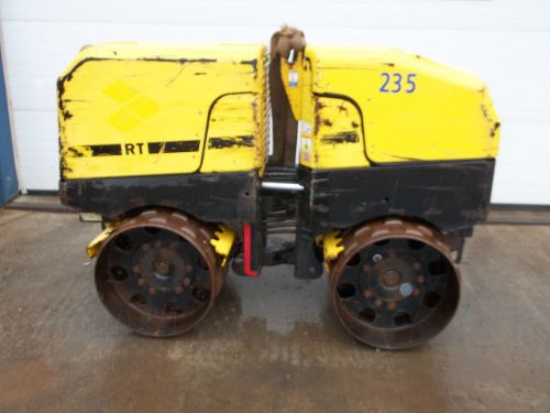 Wacker trench roller  model rt 82