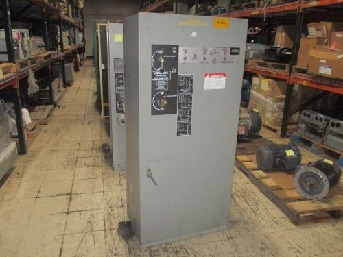 Asco automatic transfer switch w/bypass e434326097 260a 480v 60hz used