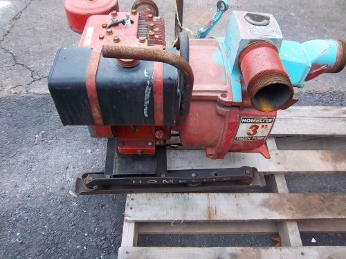 Homelite 3 inch trash pump