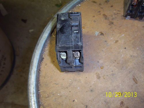 6 square d ~ qo240 ~ 20 amp 2 pole ~ snap in circuit breakers