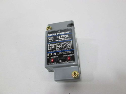 New cutler hammer e51snl switch body only d359669