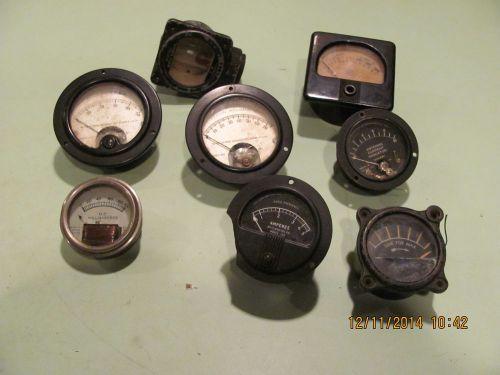 Clamp On Milliammeter : Vintage meters weston milliammeter radio frequency