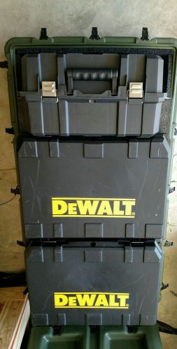 New dewalt 36 volt construction tool kit, military surplus