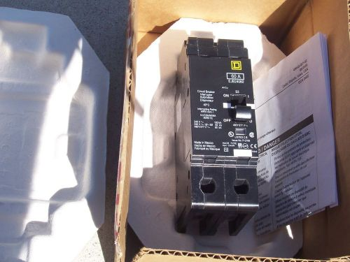 New in box square d 60 amp 2 pole breaker (ejb24060) free shipping