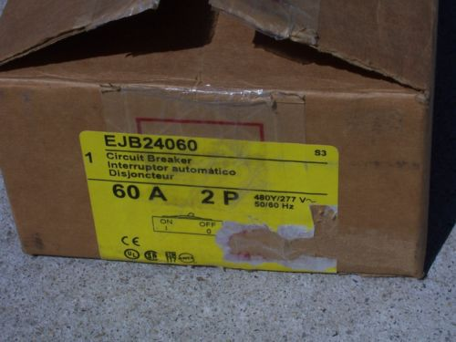New In Box Square D 60 Amp 2 Pole Breaker (EJB24060) Free Shipping, US $140.00 – Picture 2