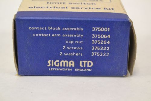 LOT 2 NEW SIGMA 375001 ELECTRICAL SNAP LOCK LIMIT SWITCH SERVICE KIT B309829, US $11.64 � Picture 4