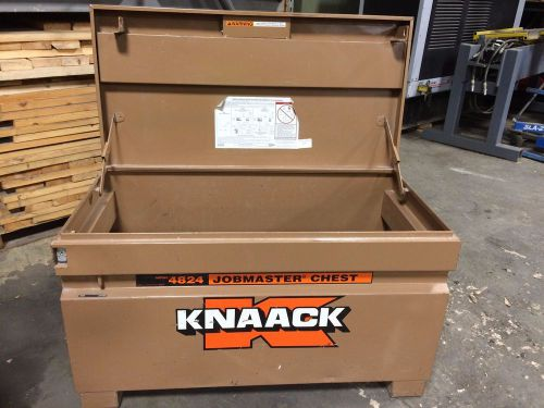 "Knaack 4824 jobmaster 48"" x 24"" x 28"" storage chest no casters"