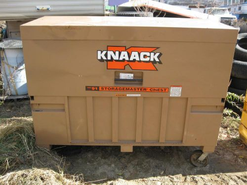 "Knaack 91 storagemaster paino gang box with ramp 72"" x 30"" x 49"""