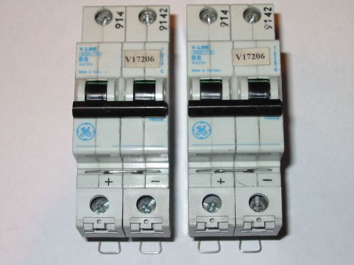 LOT OF 2 GENERAL ELECTRIC GE CIRCUIT BREAKER   V-LINE B6, US $14.99 � Picture 1