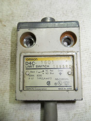 (x9-9) 1 used omron d4c-1601 limit switch