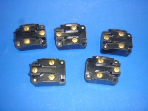 New, lot of 5, micro switch, 1mk1, limit switch; operating force max:22ozf, nnb