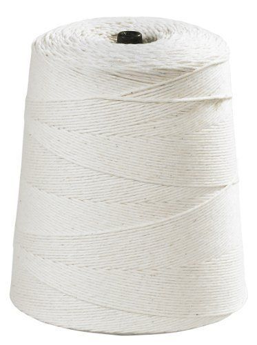 Aviditi twc630 light duty cotton twine 8 ply 6300' length white